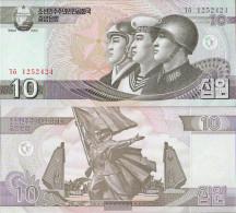 North-Korea Pick-number: 59 Uncirculated 2002 10 Won - Korea, North