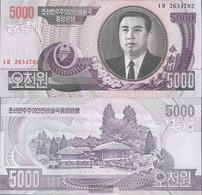 North-Korea Pick-number: 46c Uncirculated 2006 5.000 Won - Korea, North