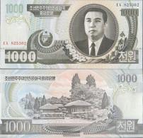 North-Korea Pick-number: 45b Uncirculated 2006 1.000 Won - Korea, North