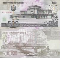 North-Korea Pick-number: 44c Uncirculated 2007 500 Won - Korea, North