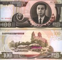 North-Korea Pick-number: 43a (1992) Uncirculated 1992 100 Won - Korea, North