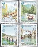 Serbian Republic Bos.-h 339A-342A (complete Issue) Unmounted Mint / Never Hinged 2005 Europe - Serbia