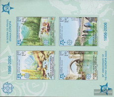 Serbian Republic Bos.-h Block13B (complete Issue) Unmounted Mint / Never Hinged 2005 50 Years Europe Trade - Serbia