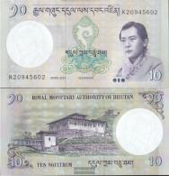 Bhutan Pick-number: 29b Uncirculated 2013 10 Ngultrum - Bhutan
