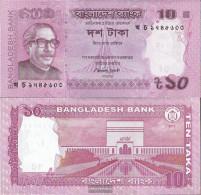 Bangladesh Pick-number: 54b Uncirculated 2013 10 Taka - Bangladesh