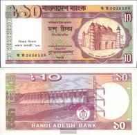 Bangladesh Pick-number: 32 (33) Uncirculated 1996 10 Taka - Bangladesh