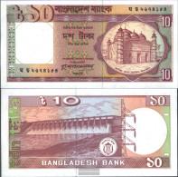 Bangladesh Pick-number: 26a Uncirculated 1982 10 Taka - Bangladesh