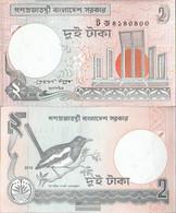 Bangladesh Pick-Number: 6C N Uncirculated 2010 2 Taka - Bangladesh