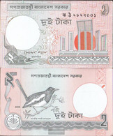 Bangladesh Pick-number: 6C L Uncirculated 2008 2 Taka - Bangladesh