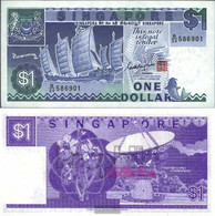 Singapore Pick-number: 18a Uncirculated 1987 1 US Dollars Ship - Singapore