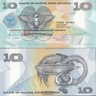 Papua-Guinea Pick-number: 17a Uncirculated 1998 10 Kina - Papua New Guinea
