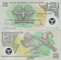 Papua-Guinea Pick-number: 16d Uncirculated 1996 2 Kina (plastic) Birds - Papua New Guinea