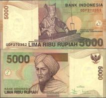 Indonesia Pick-number: 142e Uncirculated 2005 5.000 Rupiah - Indonesia