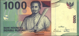Indonesia Pick-number: 141a Uncirculated 2000 1.000 Rupiah - Indonesia
