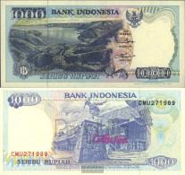 Indonesia Pick-number: 129d Uncirculated 1995 1.000 Rupiah - Indonesia