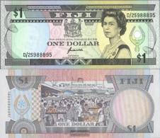 Fiji-Islands Pick-number: 89a Uncirculated 1993 1 US Dollars - Fiji