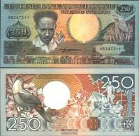 Suriname Pick-number: 134 Uncirculated 1988 250 Gulden - Surinam