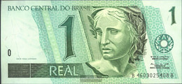Brazil Pick-number: 243d Uncirculated 1994 1 Real - Brazil