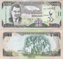 Jamaica Pick-number: 90 Uncirculated 2012 100 Dollars - Jamaica