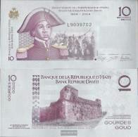Haiti Pick-number: 272e Uncirculated 2012 10 Gourdes - Haiti