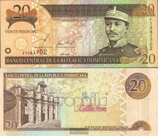 Dominican Republic Pick-number: 169b Uncirculated 2002 20 Pesos Oro - Dominicana