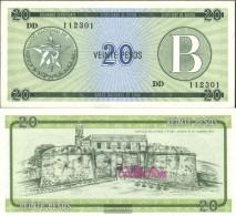 Cuba Pick-number: FX9 Uncirculated 1985 20 Pesos - Cuba