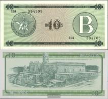 Cuba Pick-number: FX8 Uncirculated 1985 10 Pesos - Cuba