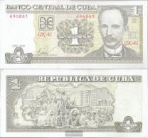 Cuba Pick-number: 121j Uncirculated 2010 1 Peso - Cuba