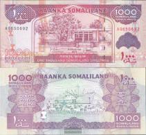 Somaliland Pick-number: 20a Uncirculated 2011 1.000 Shillings - Somalia