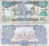 Somaliland Pick-number: 6g Uncirculated 2008 500 Shillings - Somalia