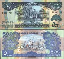 Somaliland Pick-number: 6e Uncirculated 2005 500 Shillings - Somalia