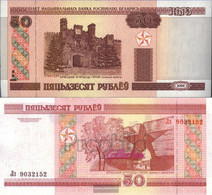 Weißrussland Pick-number: 25a Uncirculated 2000 50 Rublei - Belarus