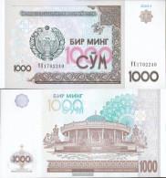 Uzbekistan Pick-number: 82 Uncirculated 2001 1.000 Sum - Uzbekistan