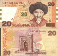 Kirgisistan Pick-number: 19 Uncirculated 2002 20 Som - Kyrgyzstan