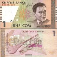 Kirgisistan Pick-number: 15a Uncirculated 1999 1 Som - Kyrgyzstan
