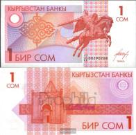 Kirgisistan Pick.number: 4 Uncirculated 1993 1 Som - Kyrgyzstan