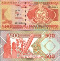 Vanuatu Pick-number: 5b (2006) Uncirculated 2006 500 Vatu - Vanuatu