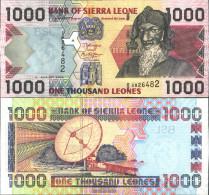 Sierra Sierra Leone Leone Pick-number: 24c Uncirculated 2006 1.000 Leones - Sierra Leone
