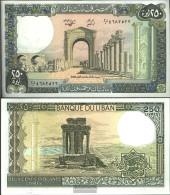 Lebanon Pick-number: 67e (1988) Uncirculated 1988 250 Livres - Lebanon