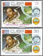 Kuba 2501-2502 (completa Edizione) MNH 1980 Space Flight - Kuba