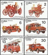 Kuba 2224-2229 (completa Edizione) MNH 1977 Fire Settimana - Cuba