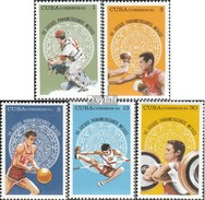 Kuba 2072-2076 (completa Edizione) MNH 1975 Pan American Giochi Sportivi - Kuba