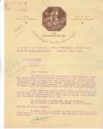 75 Paris - Chez RAMPONNEAU , Ancien Cabaret Des Porcherons, 18 Rue Condorcet, Lettre Illustrée De 1925. Tb état. - 1900 – 1949