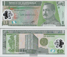 Guatemala Pick-number: 115b Uncirculated 2012 1 Quetzal - Guatemala