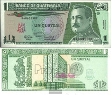Guatemala Pick-number: 73b Uncirculated 1991 1 Quetzal - Guatemala