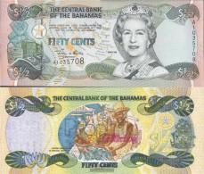 Bahamas Pick-number: 68 Uncirculated 2001 1/2 US Dollars - Bahamas