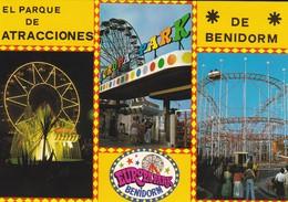 ESPAGNE---BENIDORM---el Prque De Aracciones--europapark--multivues--voir 2 Scans - Espagne