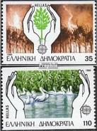 Grèce 1630C-1631C (complète.Edition.) Oblitéré 1986 Europe - Usati