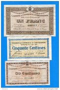 Carcassonne  3  Billets - Chamber Of Commerce