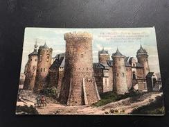 499 - ROUEN Tour Ou Jeanne D'Arc Fut Enfermée En 1431 Et Ancien Chateau Bati Par Philippe Auguste En 1204 - 1932 Timbrée - Rouen